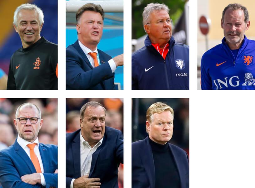7 bondscoaches sinds 2012