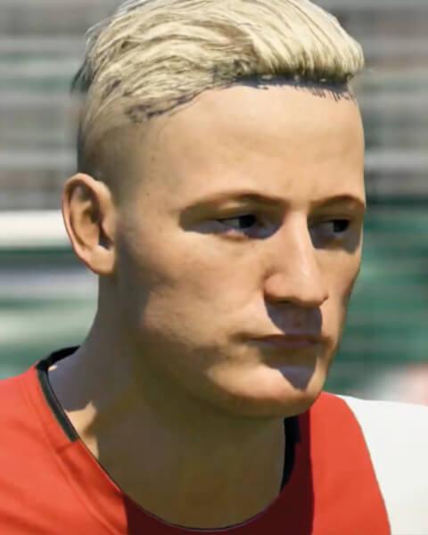 Donny van de Beek in FIFA 20