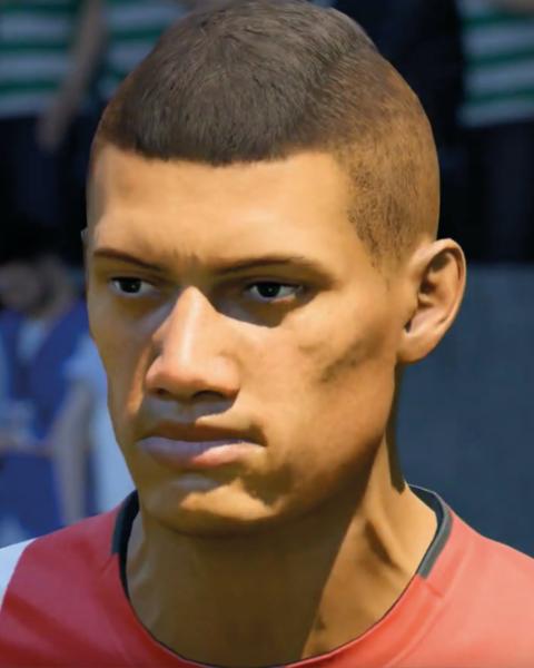 David Neres in FIFA 20