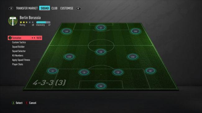 FIFA 20 formaties