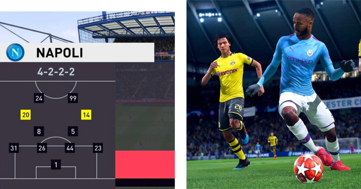 Met deze 6 formaties in FIFA 20 ga je iedereen verslaan