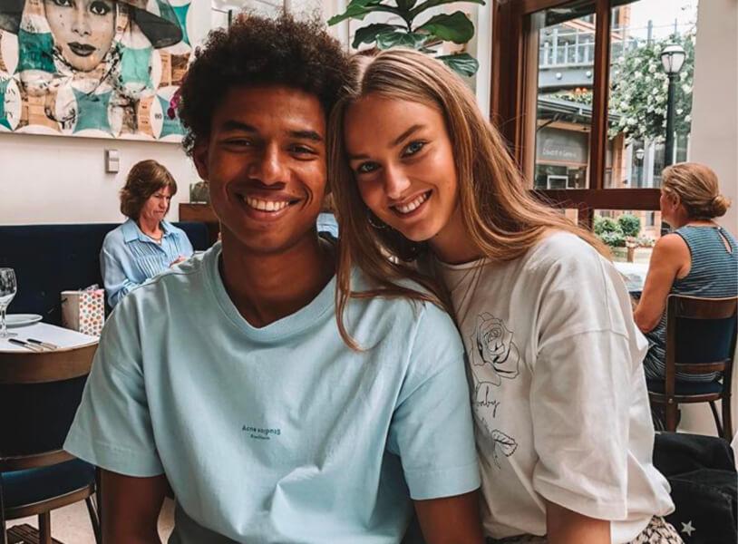Beau de Boer is de vriendin van Stengs