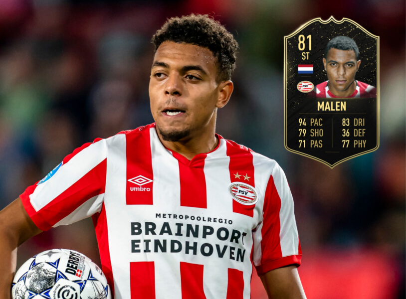 Donyell Malen In Form in FIFA 20