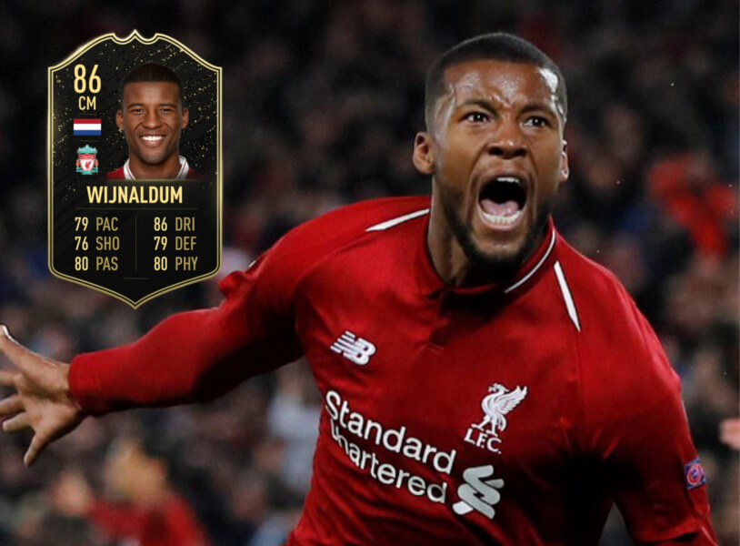 Georginio Wijnaldum In Form in FIFA 20