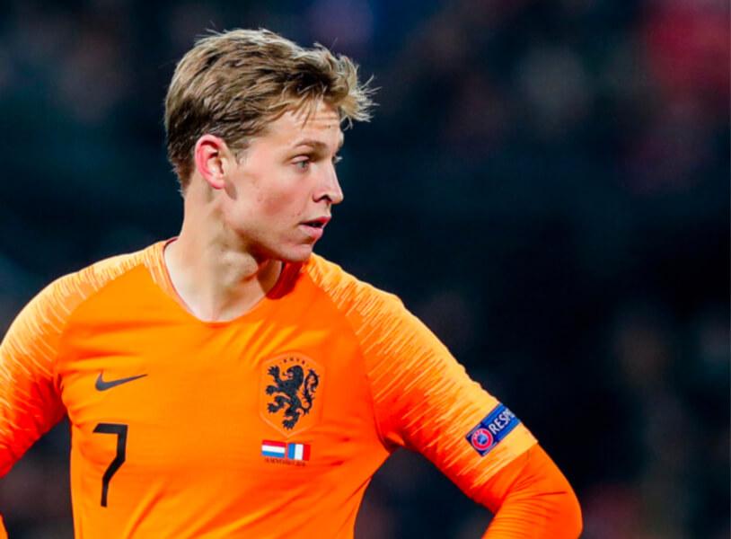 Frenkie de Jong is een grootverdiener van het Nederlands efltal