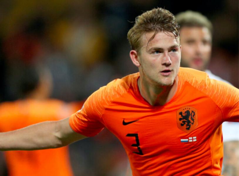 De Ligt is een grootverdiener van het Nederlands elftal