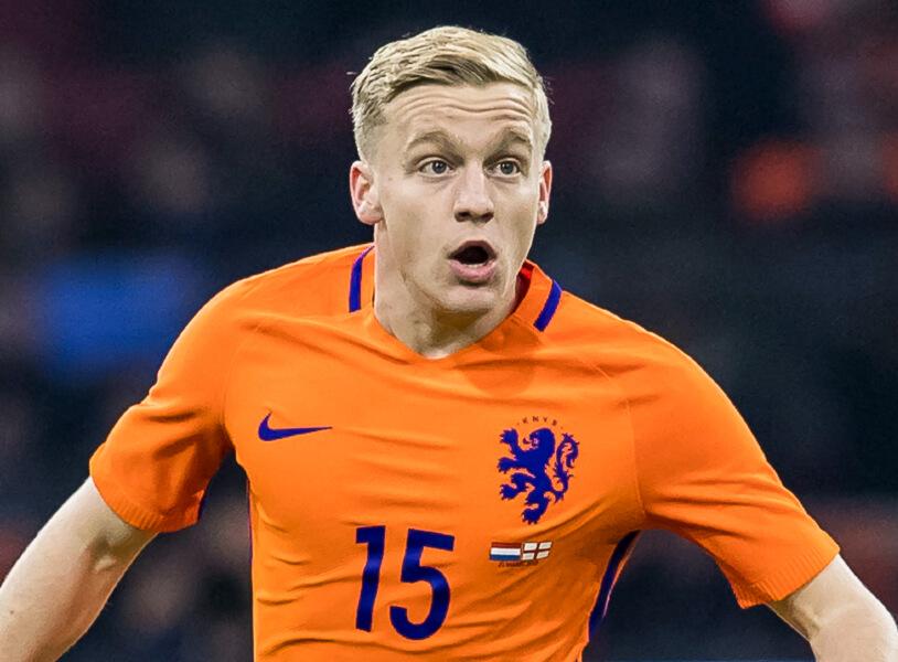 Donny van de Beek grootverdiener Nederlands elftal