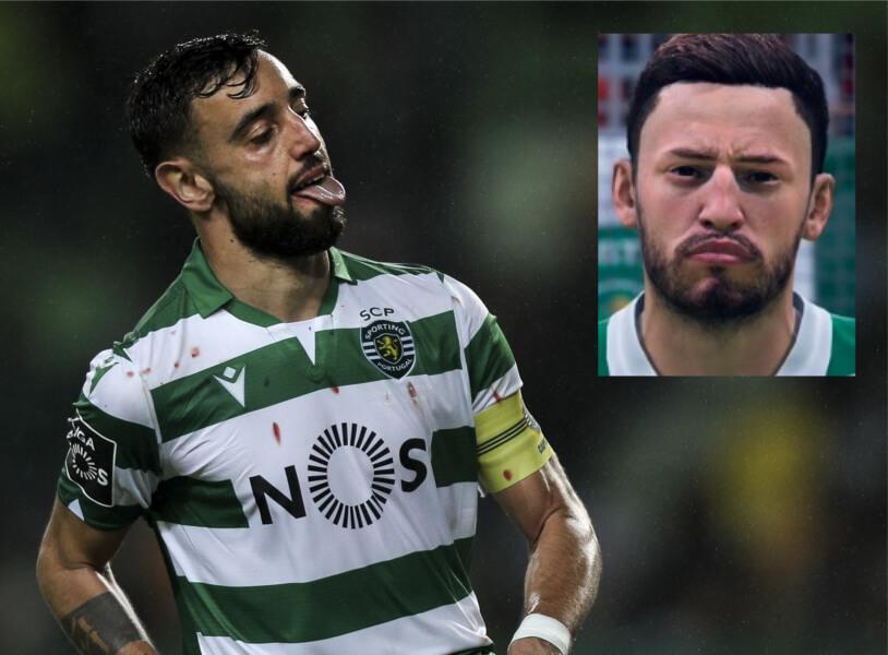 Topspelers zonder game face FIFA 20: Bruno Fernandes