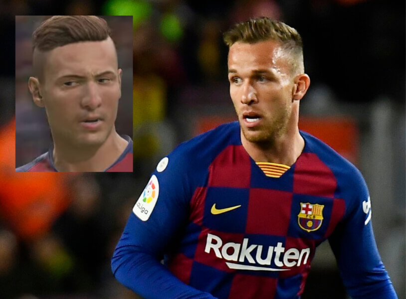Topspelers zonder game face FIFA 20: Arthur Melo
