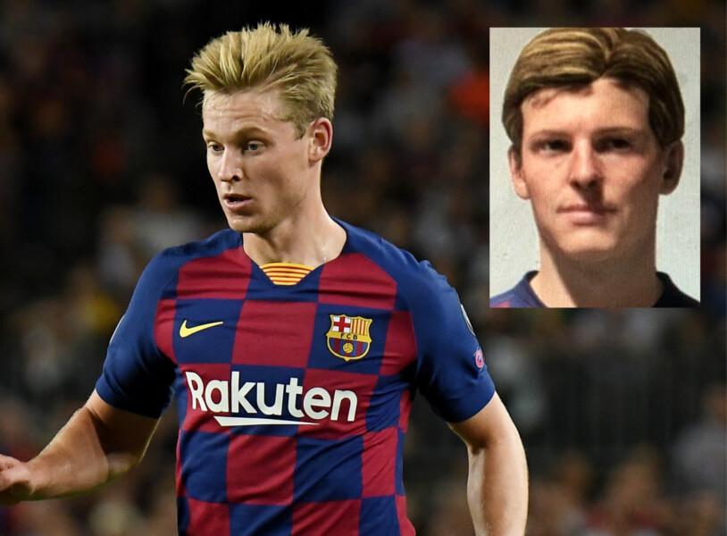 Topspelers zonder game face in FIFA 20: Frenkie de Jong