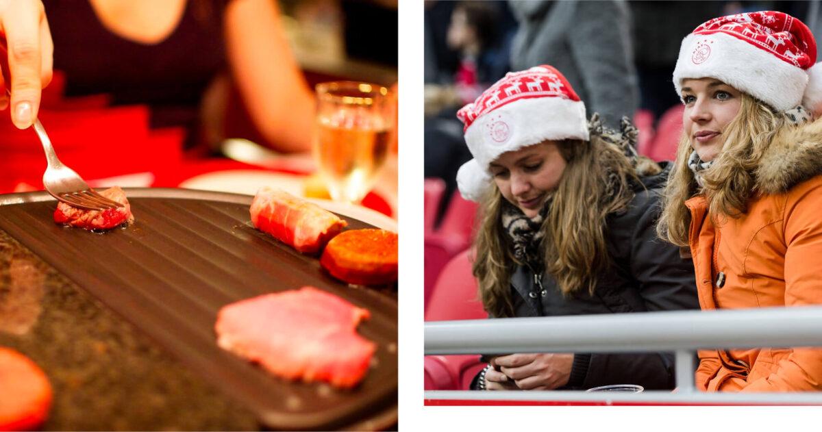 Kies een kerstdiner en wij weten jouw Eredivisieclub