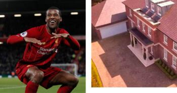 Wijnaldum woont als een absolute baas in Liverpool