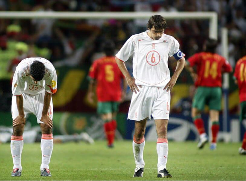 Uiteraard schakelde Portugal ons uit