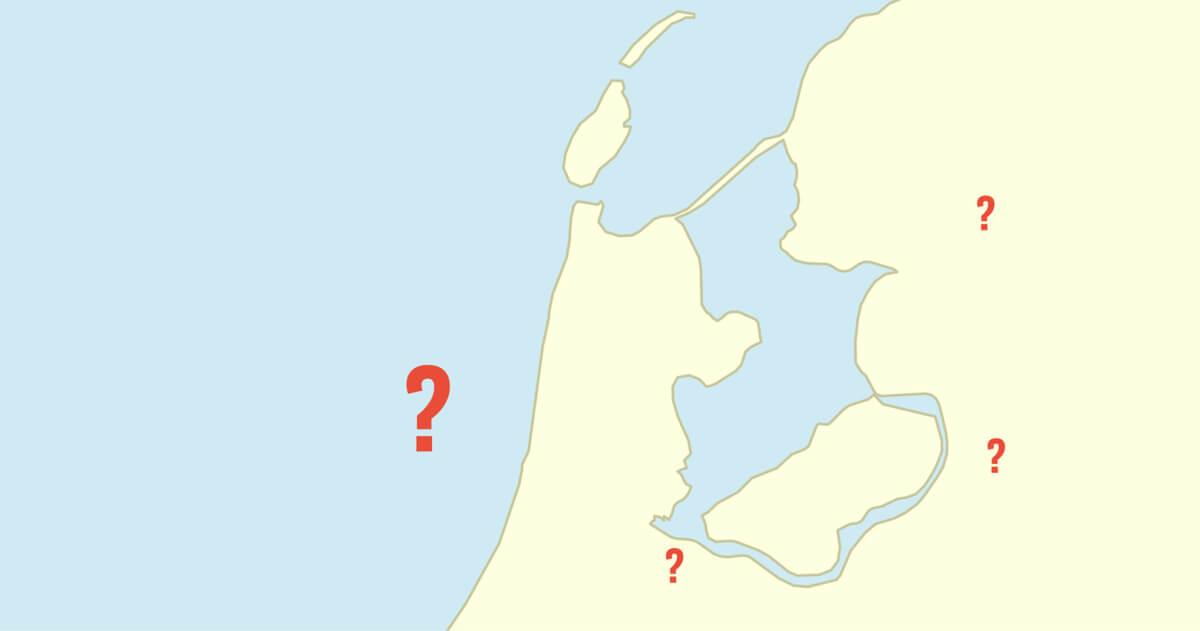 Wijs jij alle Eredivisie-stadions aan op een lege kaart?