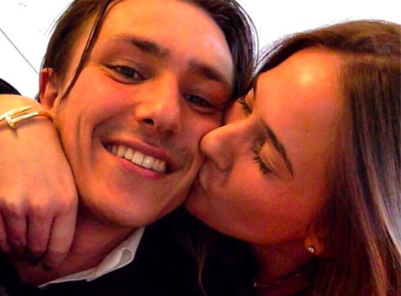 Nadine Bamberger is de vriendin van Steven Berghuis