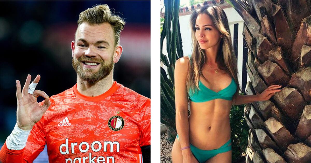 Reservekeeper van Feyenoord heeft leuk vriendinnetje