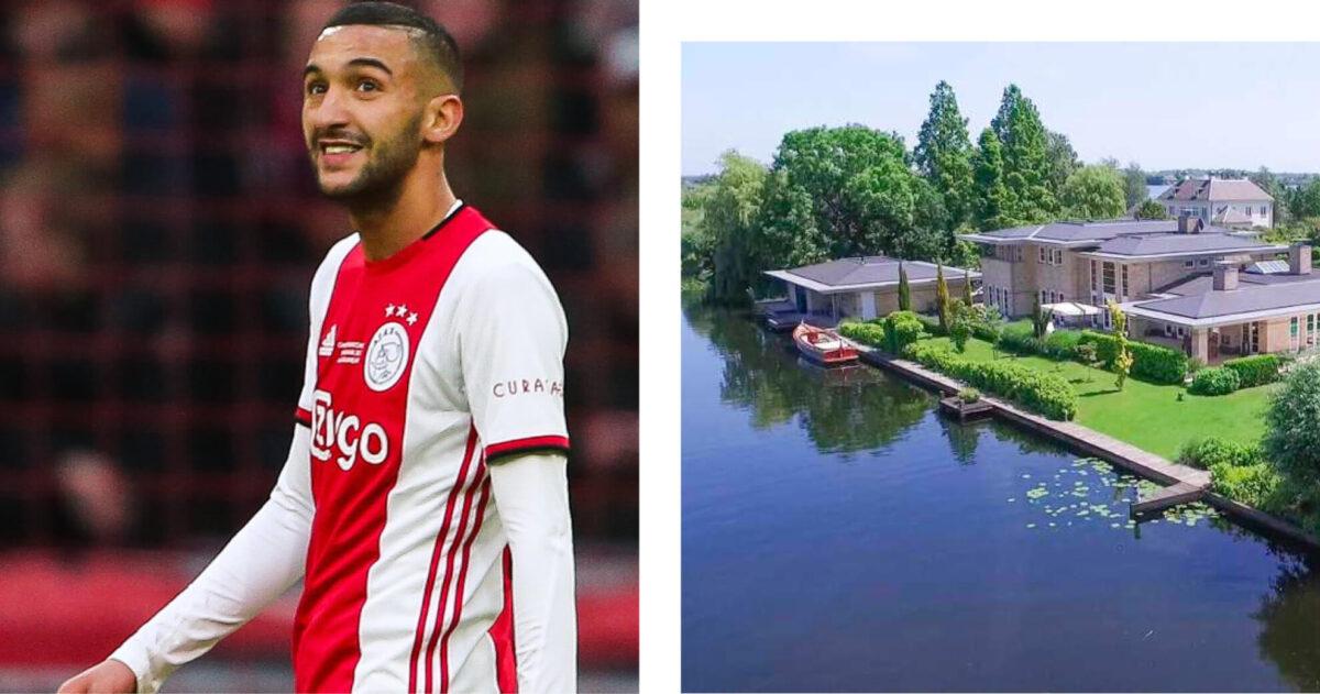 Ziyech trakteert zichzelf op peperdure villa na Chelsea-transfer