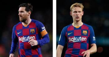 Bizar! Zoveel geld leveren Frenkie en Messi in na dikke salarisverlaging