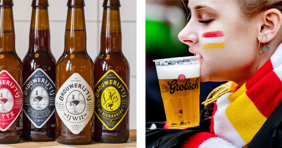 Beantwoord twee vragen en wij weten jouw favoriete biertje