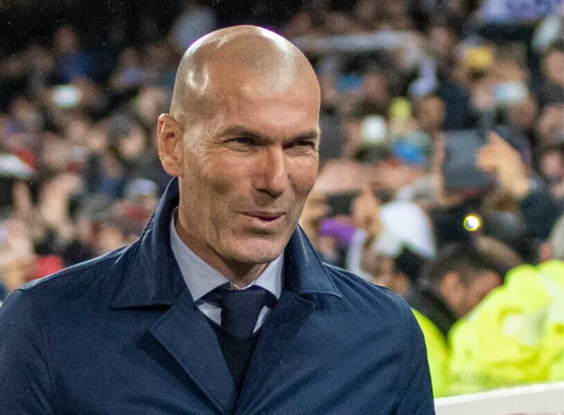 Best verdienende coach: Zinedine Zidane