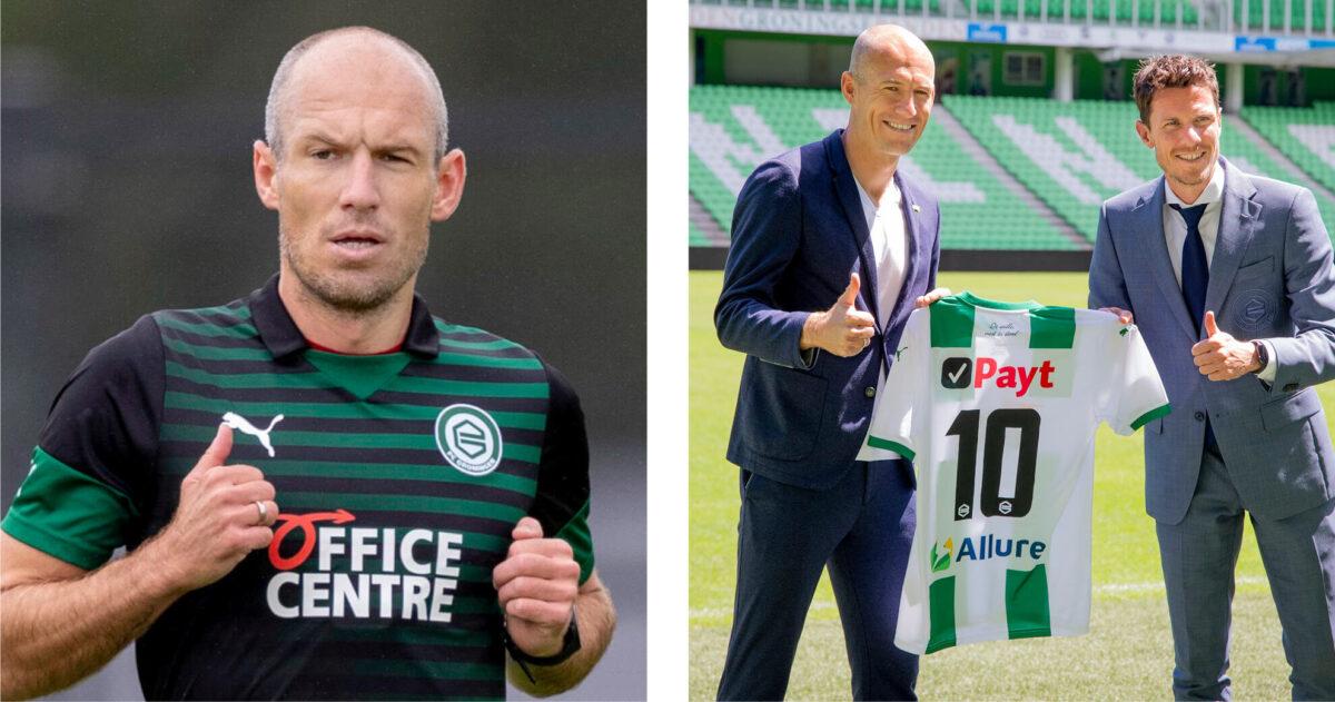 Wat verdient Robben bij FC Groningen?