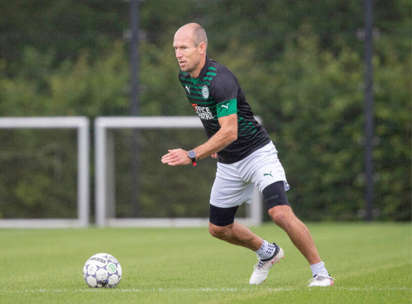 Wat gaat Robben verdienen bij FC Groningen?