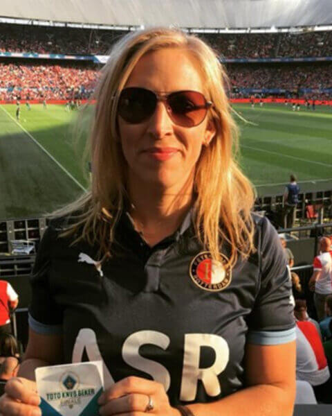 Lilian Marijnissen is Feyenoord-fan