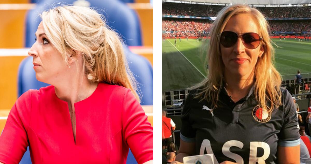 Lilian Marijnissen doet het met voetbalverslaggever