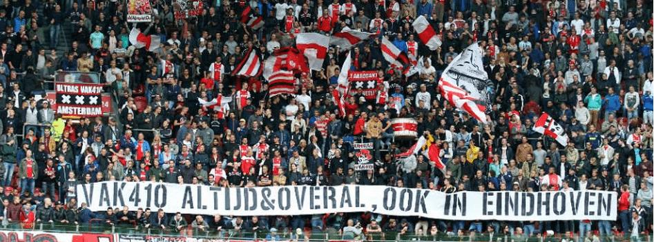 Geen Ajax-supporters bij topper