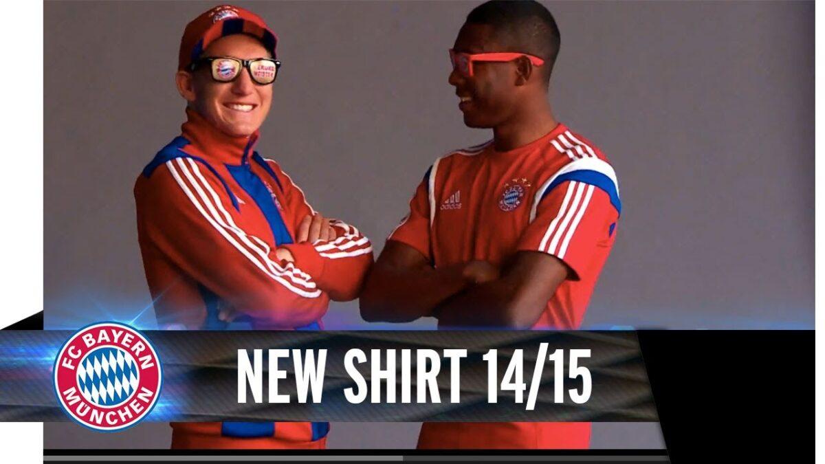Bayern München onthult nieuw tenue