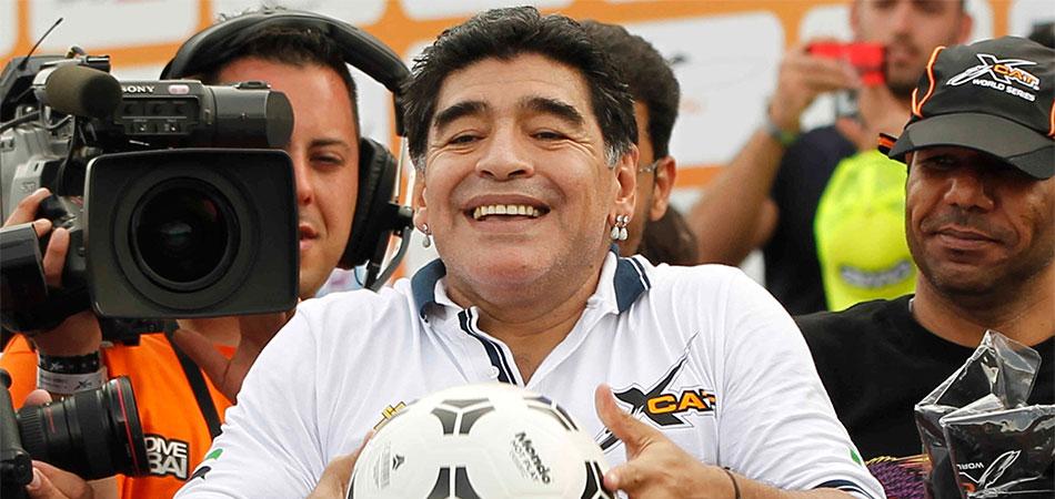 Maradona: 'Gouden Bal Messi onterecht'