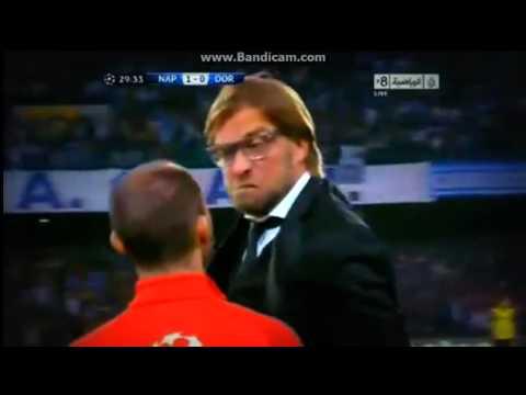 Dortmund-coach compleet door het lint