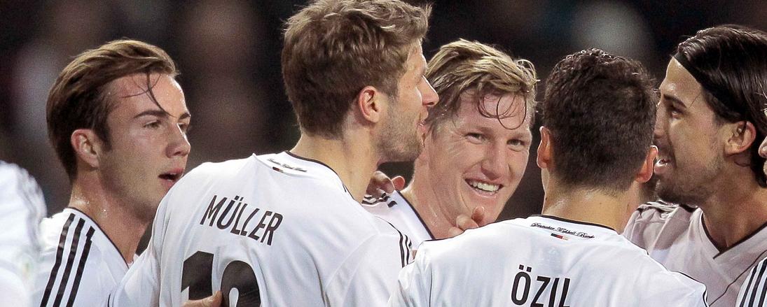 Slechts één spits in WK-selectie Duitsland