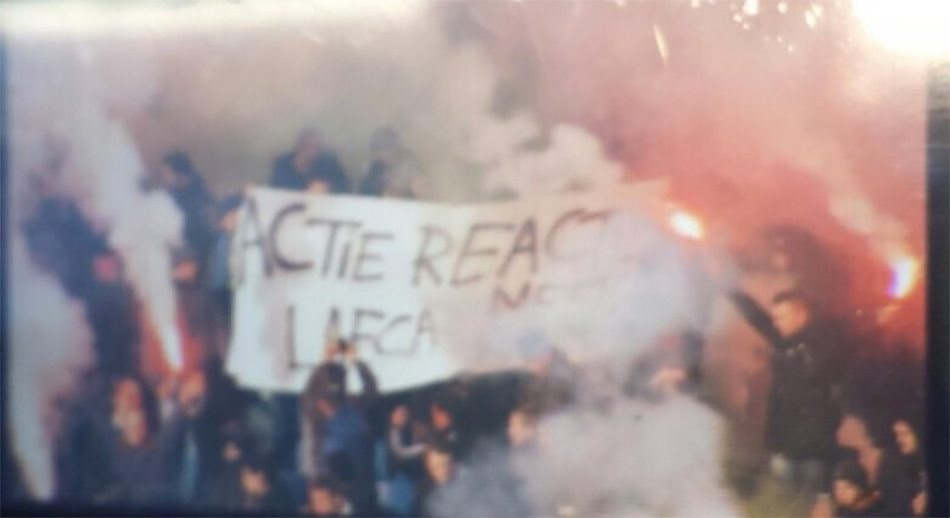 'Feyenoorders staken supportershome in brand'