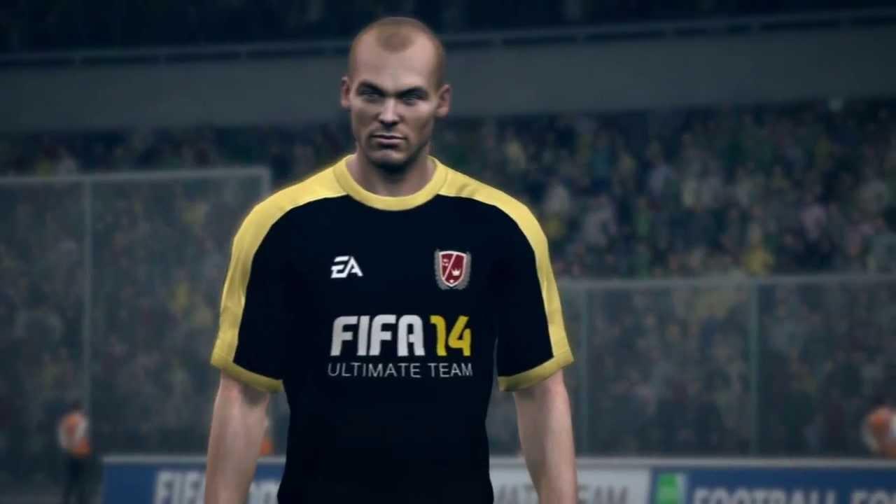 Gullit en Bergkamp in FIFA 14 trailer