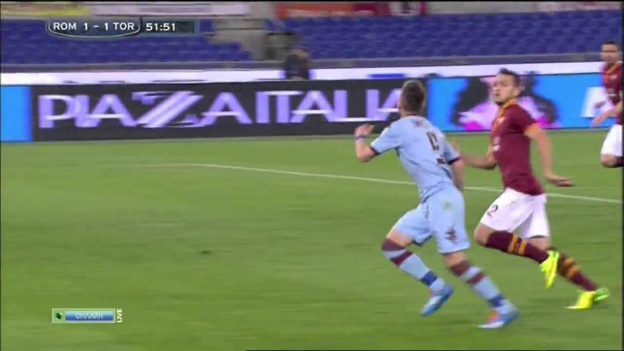 Heerlijke volley in Italië