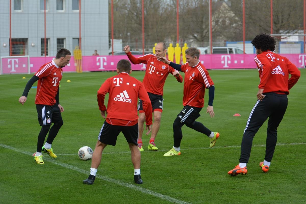 Indrukwekkende trainingsbeelden Bayern