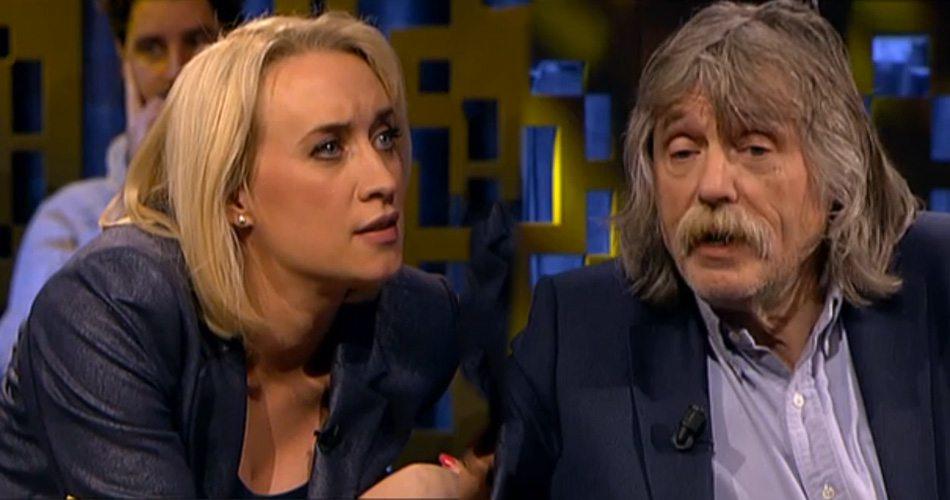 Johan Derksen geilt op Eva Jinek
