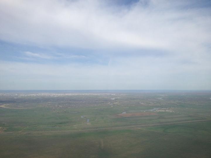 Kazachstan is vooral steppen