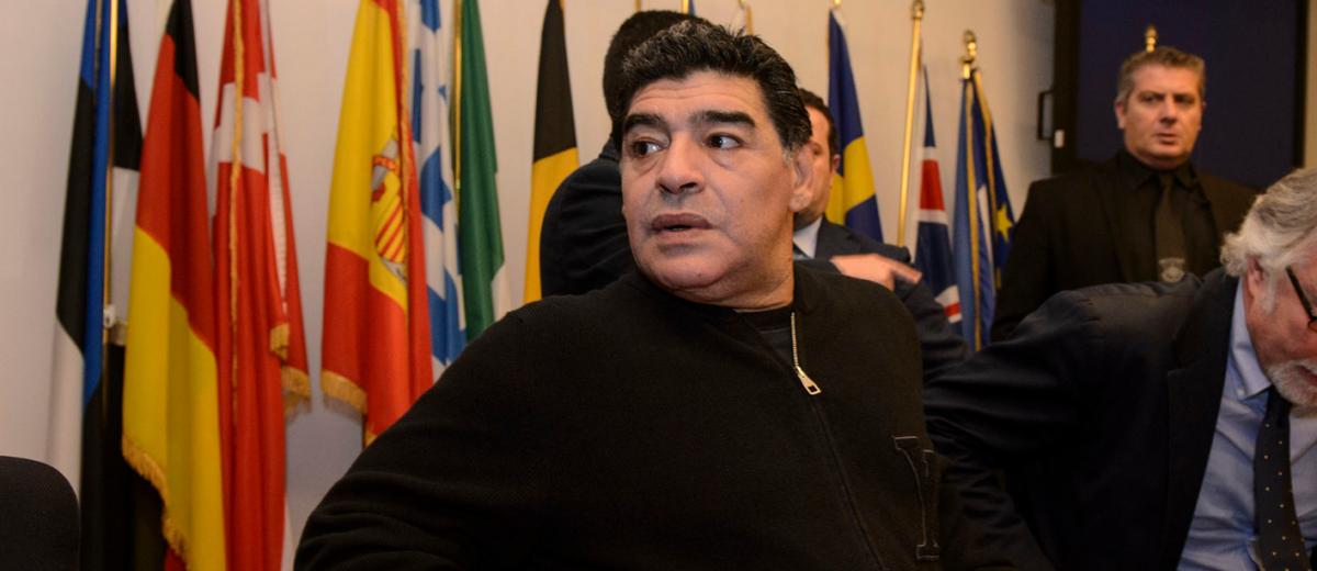 'Maradona wil assistent worden bij Bayern'