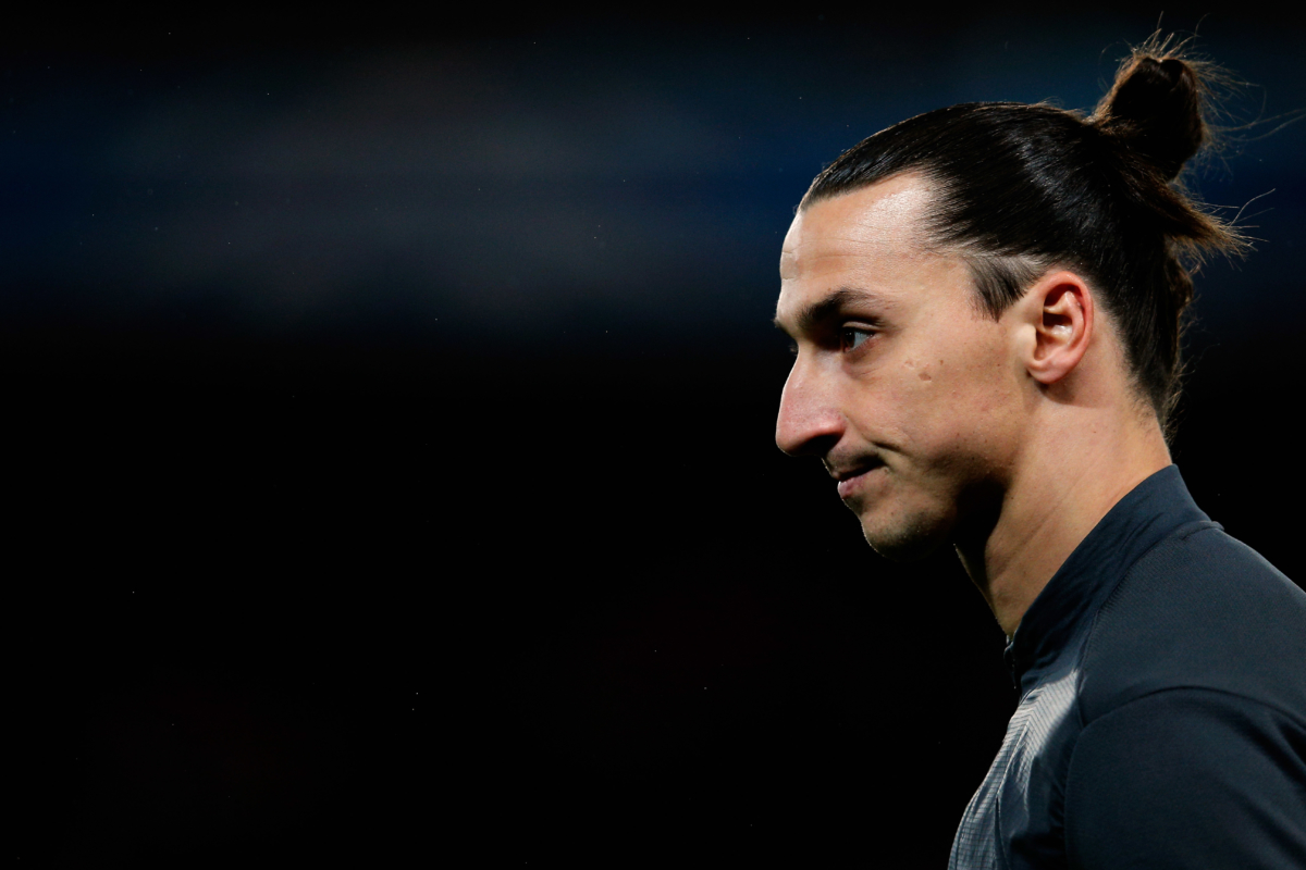 Ibrahimovic geeft emotionele speech