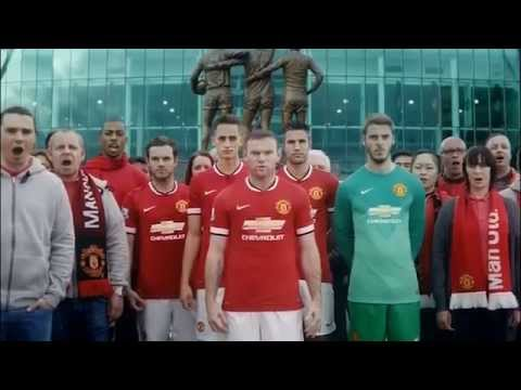 Prachtige reclame nieuw Man United-shirt