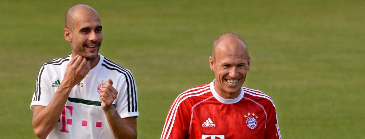 Guardiola: 'I love Robben'