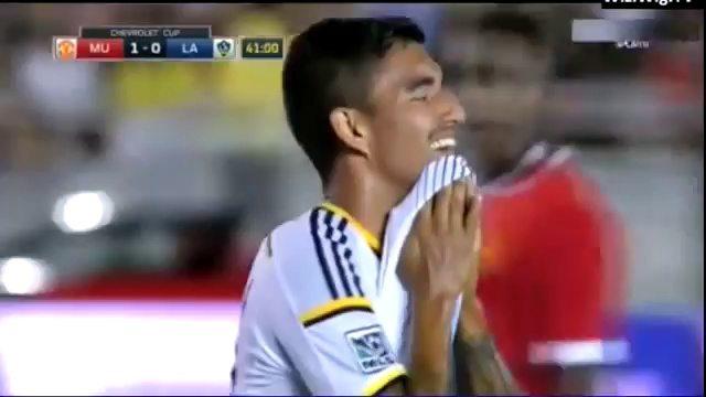 Samenvatting: Manchester United vernedert L.A. Galaxy (7-0)