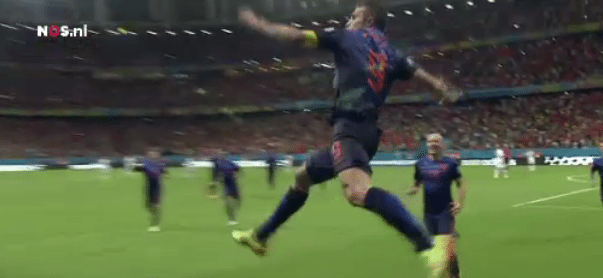 Samenvatting: Nederland vermorzelt Spanje (5-1)