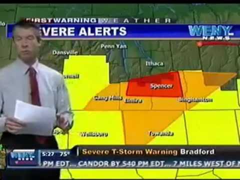 Tv-zender onderbreekt einde WK-finale voor weerbericht