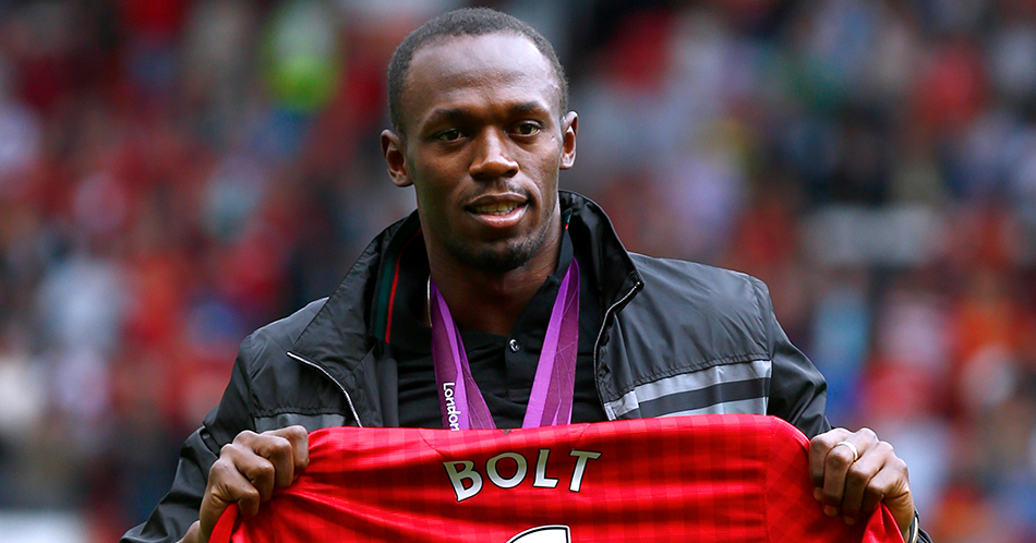 'Usain Bolt in nationaal voetbalelftal'