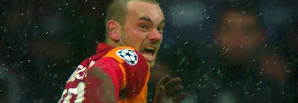 Samenvatting: Sneijder schiet Galatasaray langs Juventus (1-0)