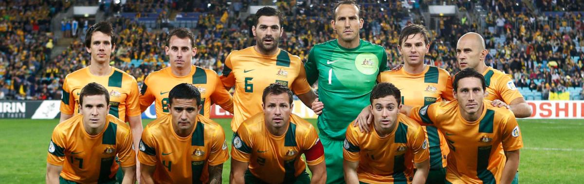 WK-selectie Australië als eerste in Brazilië